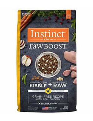 Instinct  Raw Boost Grain-Free Recipe with Real Chicken 21 lb