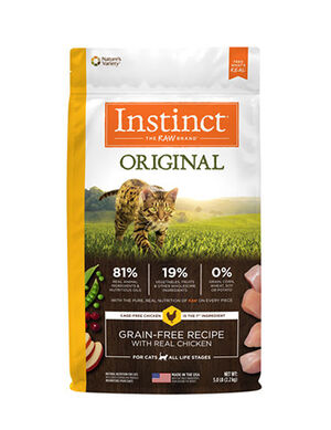 Instinct Original Grain- Free Recipe with Real Chicken - Kitten 4.5lbQ  (2kg)