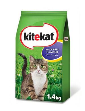 Kitekat Mackerel Flavor Cat Food 1.4 kg
