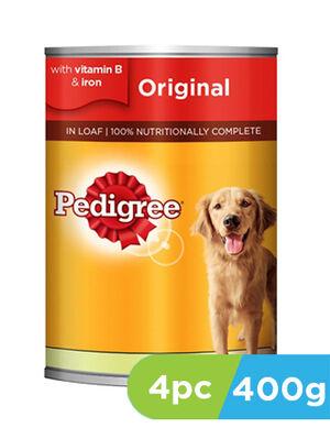 Pedigree Dog Food Original 4 x 400g -  Dogs product
