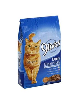 9 Lives Cat Food Daily Essentials 1.43kg