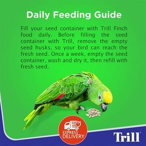Trill birds food trill budgie 500g -  Bird product