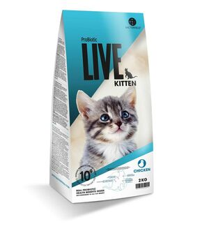 Probiotic Live Cat Kitten Chicken 2kg