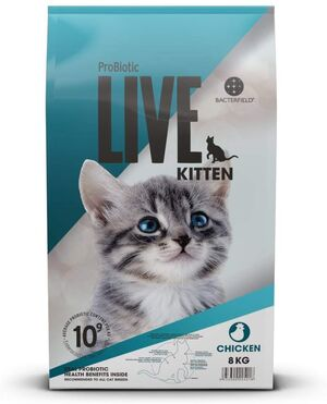 Probiotic Live Cat Kitten Chicken 8kg