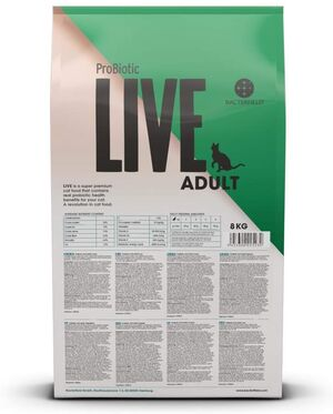 Probiotic Live Cat Adult Lamb 8kg -  Cats product