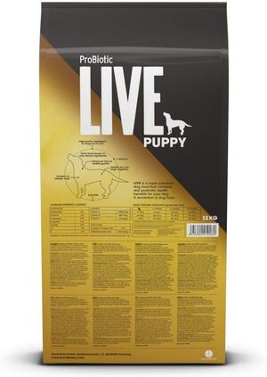 Probiotic Live Puppy Chicken & Rice 12 kg -  Dogs product