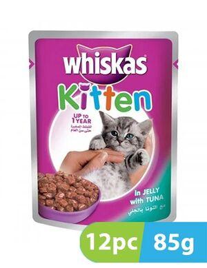 Whiskas Kitten Tuna in Jelly Pouch 12pc x 85gm