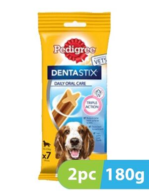 Pedigree DentaStix Daily Dental Chew for Large Dogs 2 x 180 g