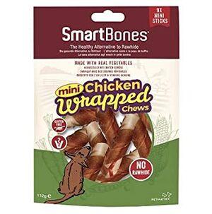 Smartbones mini chicken wrapped chews mini 112gm