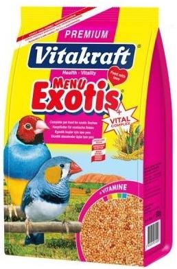 Vitakraft menu exotic 500 gm