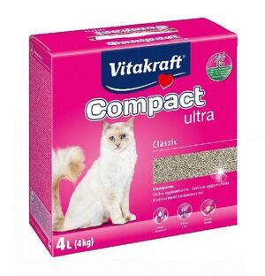 Vitakraft cat litter compact ultra 4 KG