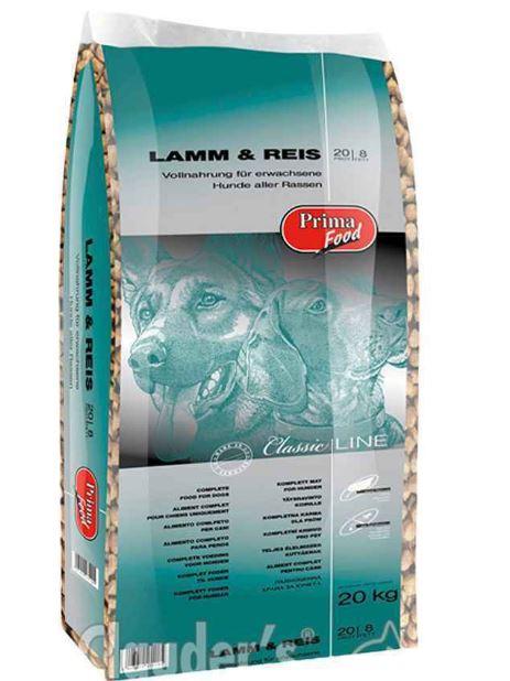 Prima Food Classic Line Lamb & Rice 20 Kg