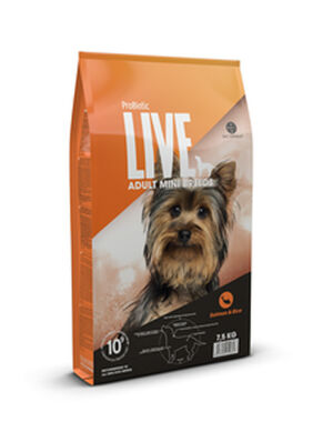 Probiotic Live Adult Mini Breeds Salmon & Rice 7.5 kg