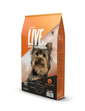 Probiotic Live Adult Mini Breeds Salmon & Rice 2kg -  Dogs product