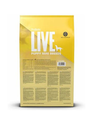 Probiotic Live Puppy Mini Breeds Turkey & Rice 7kg -  Dogs product