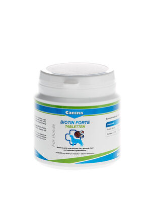 Canina Biotin Forte Tablets 200g -  Dogs product
