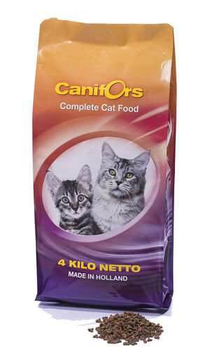 Canifors Cat Food Dry Complete 4kg