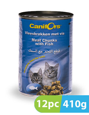 Canifors Cat Food with Fish 12pc x 410 gm
