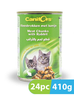 Canifors Cat Food with Rabbit 24pc x 410 gm