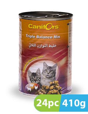 Canifors Cat Food Triple Balance 24pc x 410 gm
