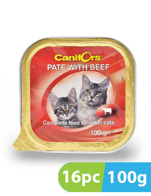 Canifors Pate with Beef 16pc x 100gm