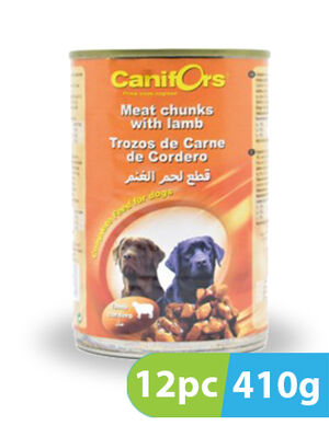 Canifors Dog Food Meat with Lamb 12pc x 410gm