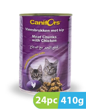 Canifors Dog Food Meat with Chicken 24pc x 410gm