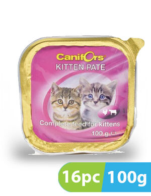 Canifors Pate with Kitten 16pc x 100gm