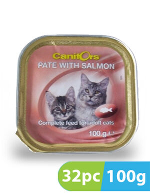 Canifors Pate with Salmon 32pc x 100gm