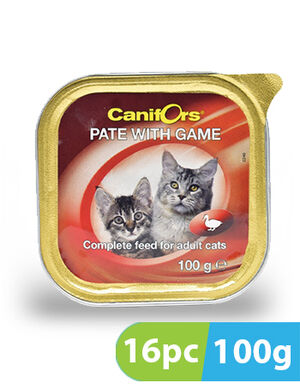 Canifors Pate with Game 16pc x 100gm