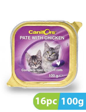 Canifors Pate with Chicken 16pc x 100gm