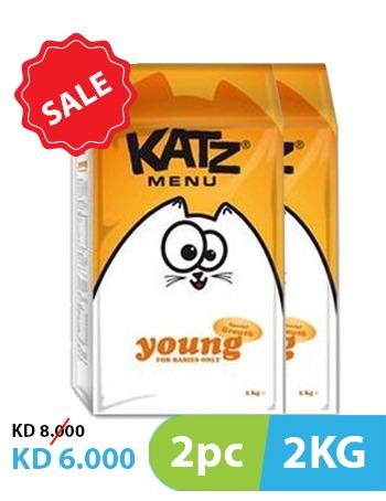 Katz Menu Young 2pc x 2kg