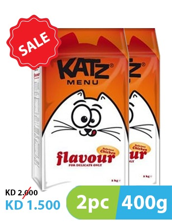 Katz Menu Flavors 400g (2pc)