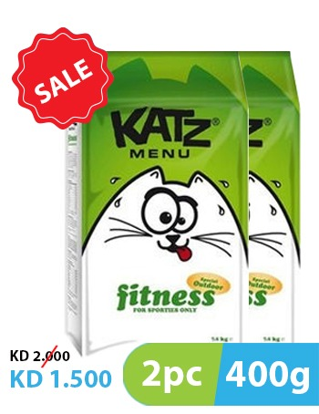 Katz Menu Fitness 2pc x 400g