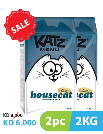 Katz Menu Housecat 2kg (2pc)