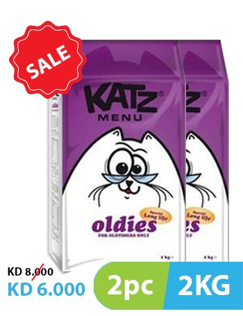 Katz Menu Oldies 2pc x 2kg -  Cats product