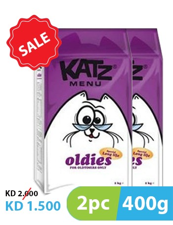Katz Menu Oldies 400g (2pc)