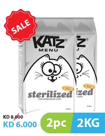 Katz Menu Sterilized 2kg (2pc)