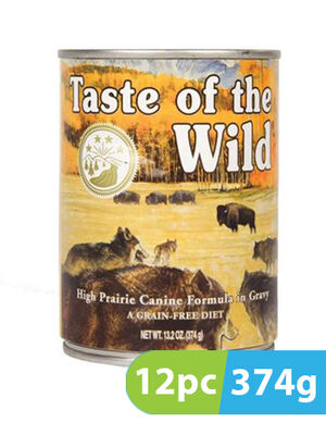 Taste of the Wild High Prairie Cans 12pc x 374g