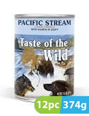 Taste of the Wild Pacific Stream Cans 12pc x 374g