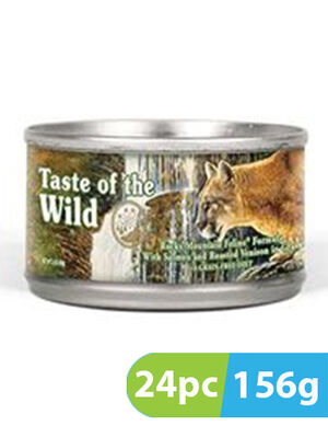 Taste of the Wild Rocky Mountain Feline Cans 24pc x 156g