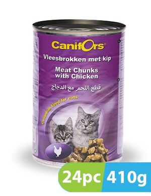 Canifors Cat Food Meat with Chicken 24pc x 410 gm