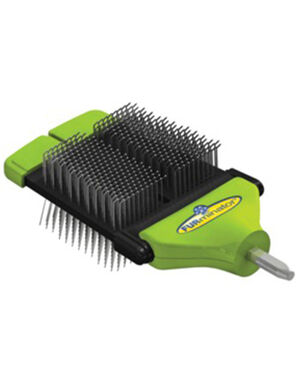 Furminator FurFle Dual Slicker Brush