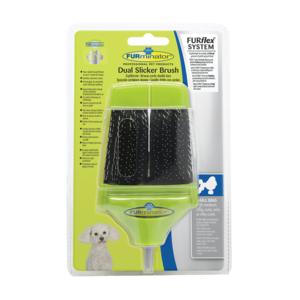 Furminator FurFlex Dual Slicker Combo Brush -  Dogs product