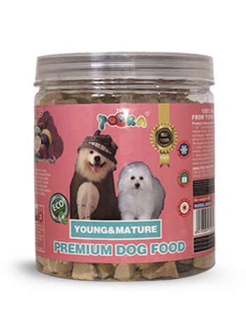 Topka young and mature beef food 85g