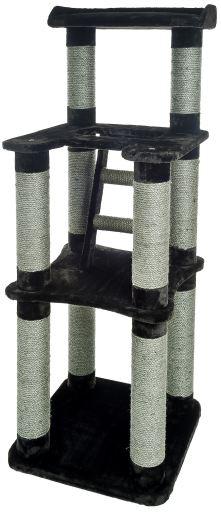 Cat Tree 3 Floors 60 x 60 x 166 cm