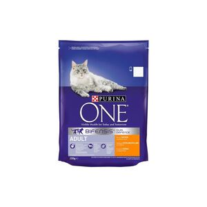 Purina One Adult Cat Chicken and Whole Grains 800 g