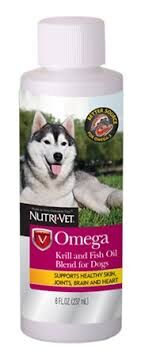 Nutri Vet Omega Krill and Fish Oil Blend for Dogs 237 ml