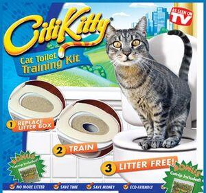 Citikitty cat toilet tanning kit