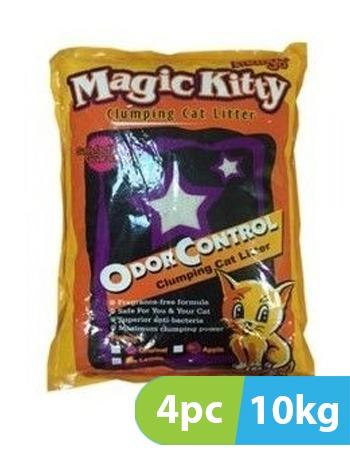 Mango Magic Kitty Clumping Cat Litter 4pc x 10kg